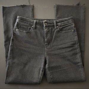 """Uniqlo Jeans High-rise Skinny Flare Jeans 26"""""""